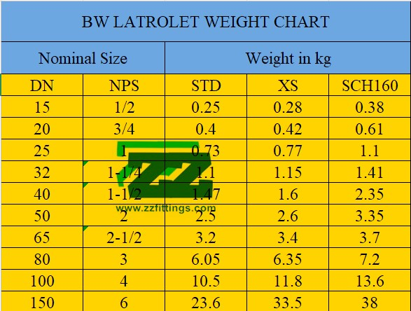 Latrolet Pipe Fittings