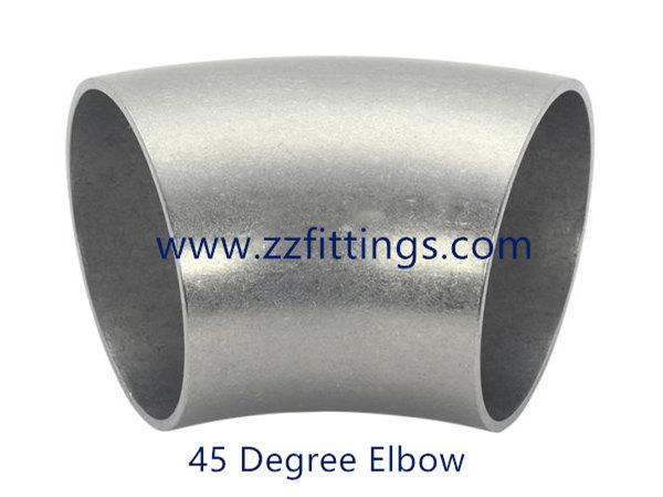 Butt Weld 45 Degree Elbow