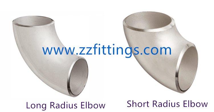 Long Radius and Short Radius Elbow