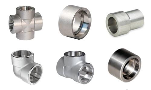 Stainless Steel Socket Weld Fittings Class 3000 6000 Pipe Fittings